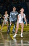 Campione olimpico nella la figura pattinare Alexei Yagudin. immagini stock