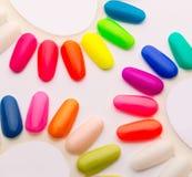 Campioni degli smalti per unghie Immagini Stock