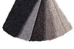 Campioni del tappeto fotografia stock