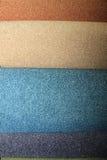 Campioni del tappeto in un negozio Fotografia Stock