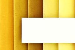 Campioni del tessuto Fotografia Stock