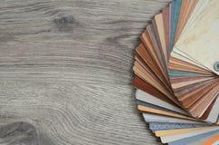 Campioni della tavolozza dei colori Fotografia Stock