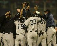 2000 campioni di campionato di baseball Fotografie Stock Libere da Diritti