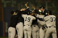 2000 campioni di campionato di baseball Fotografie Stock