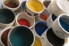 Campioni di colore photo stock