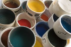 Campioni Di Colore zdjęcie stock