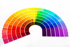 Campioni di colore immagini stock