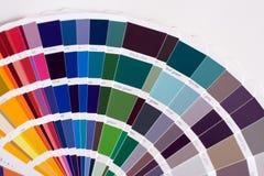 Campioni di colore Fotografia Stock