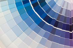 Campioni di colore Immagine Stock