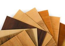 Campioni di legno Fotografie Stock