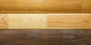 Campioni di legno dei tipi differenti di materiali fotografia stock