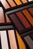 Campioni di legno di quercia Fotografie Stock Libere da Diritti