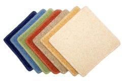 Campioni di tappeto immagine stock