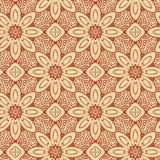 Campioni floreali del modello del hennè, Fotografie Stock