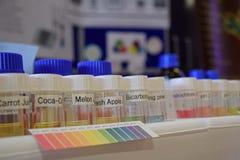 Campioni pronti per gli esperimenti al giorno del GAMBO immagine stock