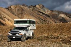 Campista Off-road Foto de Stock Royalty Free