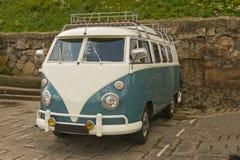 Campista Van da VW. imagens de stock royalty free