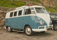 Campista Van de Volkswagen. Fotografia de Stock Royalty Free