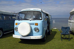 Campista Van de VW Foto de archivo libre de regalías