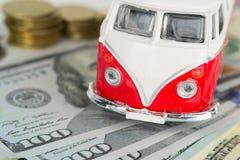Campista velho clássico da VW feito pelo Corgi Imagens de Stock Royalty Free