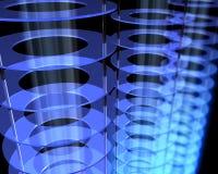 Campo abstracto de la energía Imágenes de archivo libres de regalías