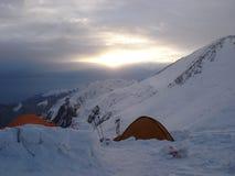 Campo ad alta altitudine al Pamir Immagine Stock Libera da Diritti
