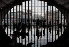 Campo Amburgo di orizzonte di Antony Gormley immagini stock libere da diritti
