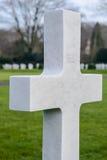 Campo americano Bélgica Waregem de Flandes del cementerio de la Primera Guerra Mundial Foto de archivo