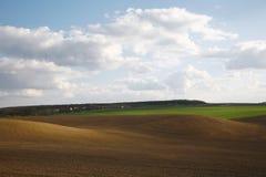 Campo arado Imagen de archivo
