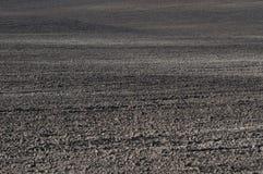 Campo arato - agricoltura Fotografia Stock