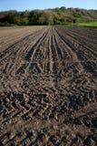 Campo arato in primavera Fotografia Stock