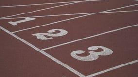 Campo atlético com marcações em Londres filme
