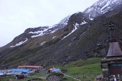 Campo bajo de Annapurna fotografía de archivo libre de regalías