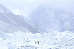 Campo bajo Everest 17500+ pie Imagen de archivo libre de regalías