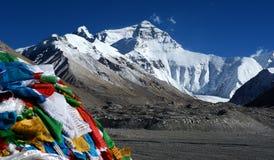 Campo base di Everest fotografia stock