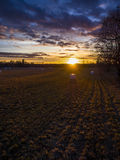 Campo bonito Foto de Stock Royalty Free