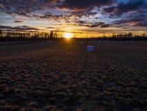 Campo bonito Fotografia de Stock Royalty Free