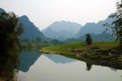 Campo bonito de Quang Binh, Vietname Foto de Stock Royalty Free