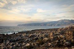 Campo bonito, Portugal Imagem de Stock