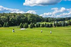 Campo calmo di Woodstock Fotografie Stock