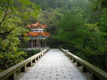 Campo chino Fotos de archivo