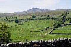 Campo común Cumbria de Mallerstang Imágenes de archivo libres de regalías