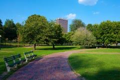 Campo común de Boston imágenes de archivo libres de regalías