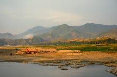 Campo, Coreia do Norte Imagens de Stock Royalty Free