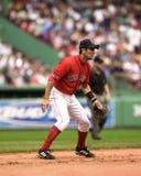 Campo corto de Nomar Garciaparra Boston Red Sox Foto de archivo libre de regalías
