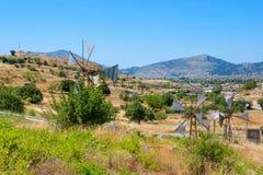 Campo. Creta, Grecia imagen de archivo libre de regalías