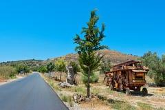 Campo Crete, Grecia imágenes de archivo libres de regalías