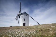 campo criptana de windmill Στοκ Εικόνα