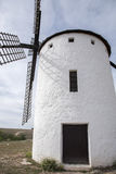 campo criptana de windmill Στοκ Εικόνες