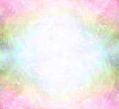 Campo curativo de la energía ligera del arco iris etéreo libre illustration
